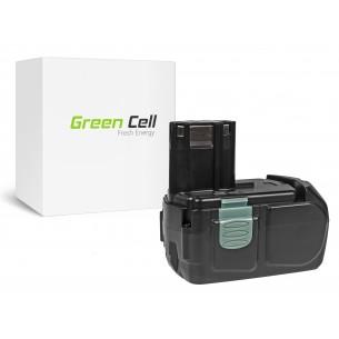 Green Cell Batteria Hitachi BCL1830 BCL1815 EBM1830 327730 18V 2.5Ah
