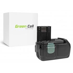 Green Cell Batteria Hitachi CJ14DL BCL1415 14.4V 2.5Ah