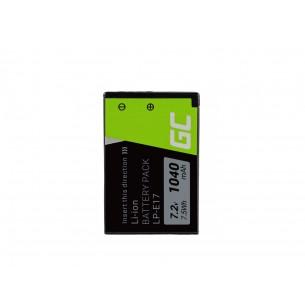 Green Cell Batteria LP-E17 (Half-Decoded) Canon EOS 77D, 750D, 760D, 8000D, M3, M5, M6,...