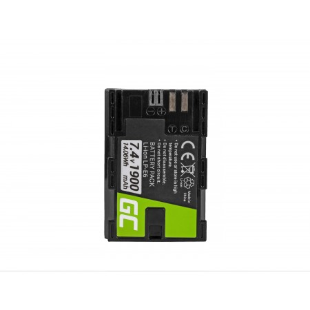 Green Cell Batteria LP-E6/LP-E6N Canon EOS 70D, 5D Mark II/ III/IV, 80D, 7D Mark II,...