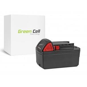 Green Cell Batteria Milwaukee M18 C18B 982-2 18V 5Ah