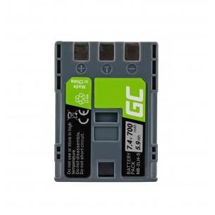 Green Cell Batteria NB-2L / NB-2LH Canon PowerShot G7 G9 S70 S80 R100 R11 Canon Elura...