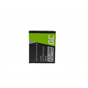 Green Cell Batteria NB-6L/6LH Canon PowerShot SX510 HS, SX520 HS, SX530 HS, SX600 HS,...