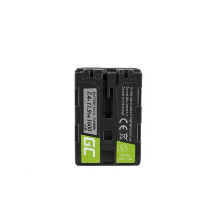 Green Cell Batteria NP-FM500H Sony A58, A57, A65, A77, A99, A900, A700, A580, A56,0...