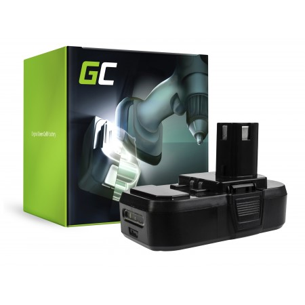 Green Cell Batteria ONE+ RB18L50 RB18L15 RYOBI R18AG0 R18JS0 R18PDBL RCD18022L RID1801M...