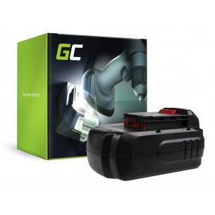 Green Cell Batteria PC18B per Porter-Cable PC1800D PC180DK PC18AG PC18JR PC18JS PC18RS...