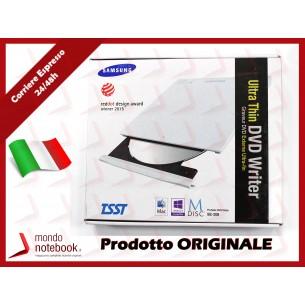 Masterizzatore Unità Ottica DVD/R/RW Samsung Slim SE-208GB USB 2.0 (Esterno) BIANCO