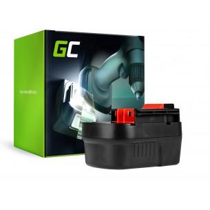 Green Cell Batteria per Black&Decker A12 A1712 HPB12 12V 2Ah