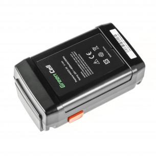 Green Cell Batteria per Gardena 8838 380 380EC 380LI 25V 4Ah Samsung