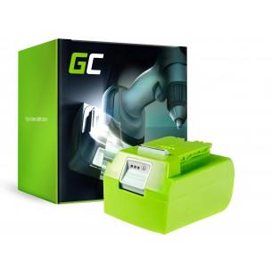 Green Cell Batteria per GreenWorks 29852 G-24 G24 24V 4Ah Samsung