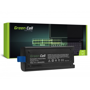 Green Cell Batteria per Panasonic Toughbook CF-18 CF-VZSU30B / 7,4V 7400mAh