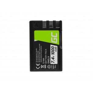 Green Cell Camera Batteria per Nikon D-SLR D40 D60 D3000 D5000 7.4V
