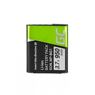 Green Cell Camera Batteria per Sony DSC H10 H20 H50 HX5 HX10 T50 W50 W70 3.7V