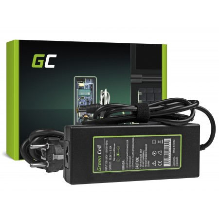 Green Cell Charger  AC Adapter per Sony VAIO 120W / 19.5V 6.15A / 6.5-4.4mm