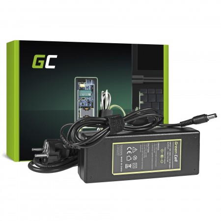 Green Cell Charger  AC Adapter per Toshiba 120W / 19V 6.3A / 6.3mm-3.0mm