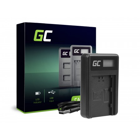 Green Cell Charger BC-QZ1 per Sony NP-FZ100, Alpha A7 III A7R III A9 A9R A9S ILCE-7M3 7RM3