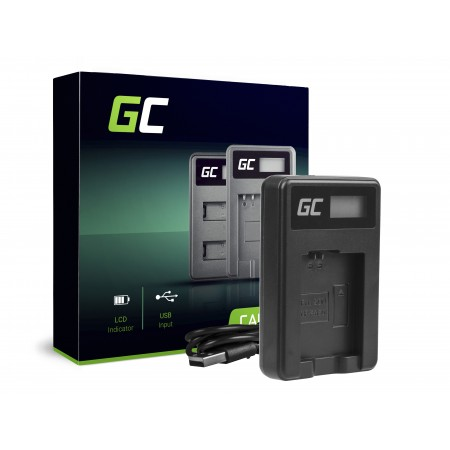 Green Cell Charger BC-TRW per Sony NP-FW50, Alpha A7 A7 II A7R A7R II A7S A7S II A5000...