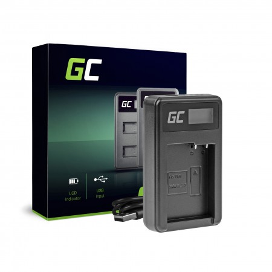 Green Cell Charger DE-A79B Panasonic FZ2000, G81, FZ1000, FZ300, G6M, GX8M, G70M,...