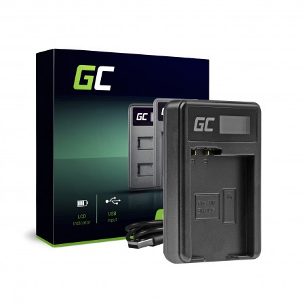 Green Cell Charger MH-25 Nikon EN-EL15 D850 D810 D800 D750 D7500 D7200 D7100 D610 D600