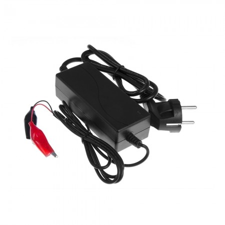Green Cell Charger per AGM Gel and Lead Acid Batteries (12V, 1.5A)