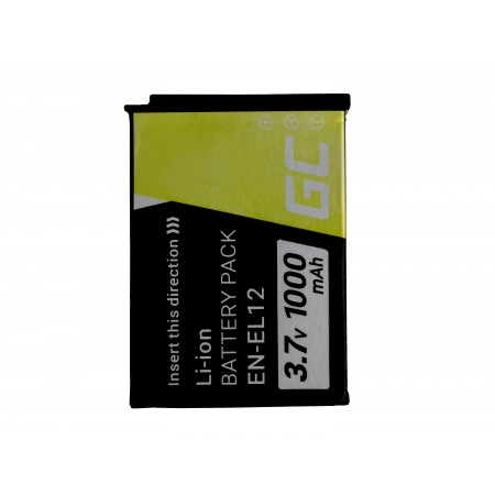 Green Cell Digital Camera Batteria per Nikon Coolpix AW100 AW110 AW120 S9500 S9300...