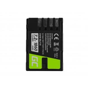 Green Cell Digital Camera Batteria per Panasonic Lumix DC-G9 DC-GH5  7.2V 1860mAh