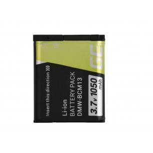 Green Cell Digital Camera Batteria per Panasonic Lumix DMC-FT5 DMC-TS5 DMC-TZ40...