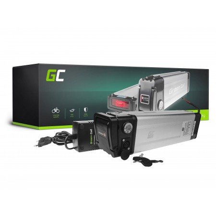 Green Cell eBike Batteria Silverfish 36V 23,8Ah 857Wh E-Bike Pedelec