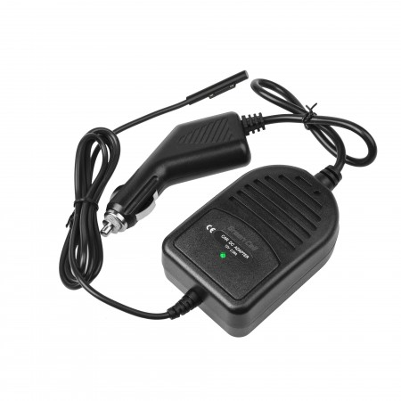 Green Cell In-car Charger per Microsoft Surface Pro 3 and Pro 4 12V 2.58A