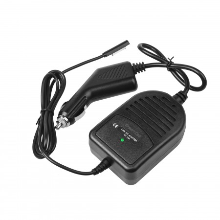 Green Cell In-car Charger per Microsoft Surface RT, RT/2, Pro and Pro 2 12V 3.6A