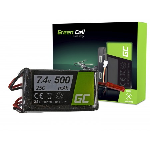 Green Cell RC Batteria 500mAh 7.4V