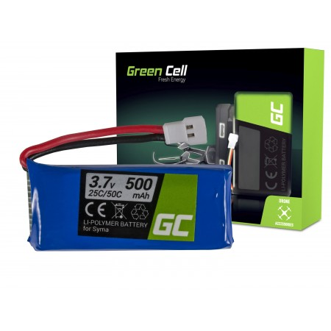 Green Cell RC Batteria per Syma S032 S032G S39 3.7V 500mAh
