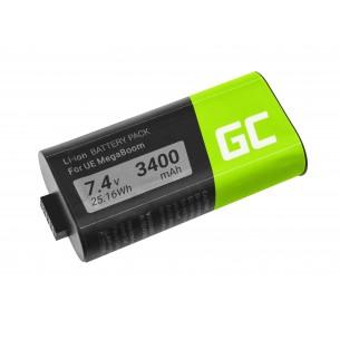 Green Cell Speaker Batteria 533-000116 533-000138 per Logitech Ultimate Ears UE...