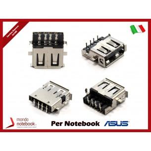 Presa Connettore USB 2.0 per ASUS K42 K52 K42JR K42JC K52 K52DR K52J K52D K52JK K52JT...