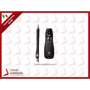 PRESENTER LOGITECH WIRELESS MOUSE R400, 1000 dpi 5 tasti, USB 910-00135 Nero