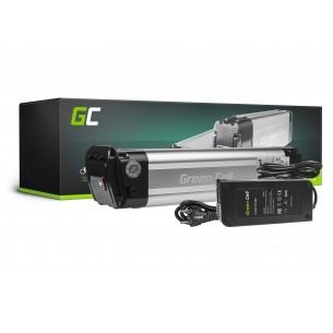 Green Cell ® Batteria per Electric Bikes e-Bike 24V 10.4Ah 250Wh