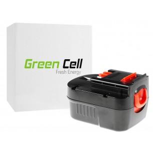 Green Cell ® Power Tool Batteria per Black&Decker A12 A1712 HPB12 12V 3Ah