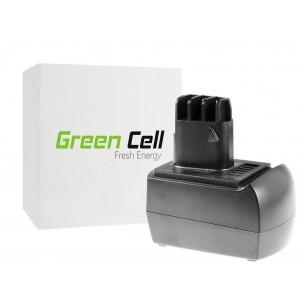 Green Cell ® Power Tool Batteria per Metabo BS 12 SP BSZ 12 12V 2Ah