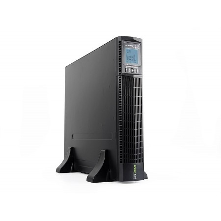 Green Cell ® UPS Online RTII 2000VA LCD