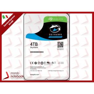 "HD SEAGATE SKYHAWK SATA3 4TB 3.5"" 5900 RPM  64mb cache 24x7 - (Ideali per DVR/PVR)..."