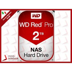 "HD WD SATA3 2TB 3.5"" RED PRO INTELLIPOWER 64mb cache 7200RPM 24x7 - NAS HARD DRIVE -..."