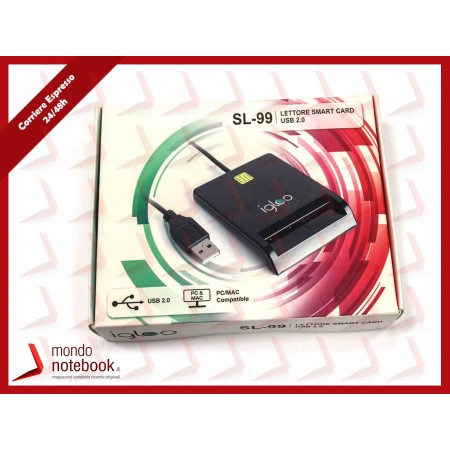 IGLOO SL-99 IGLOO LETTORE SMART CARD USB 2.0