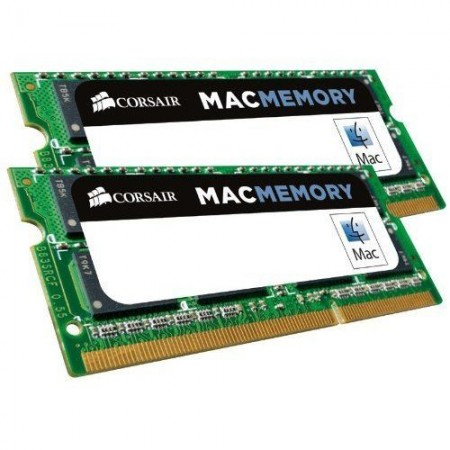 RAM SO-DIMM NOTEBOOK DDR3L 16GB [2x8GB] PC3-12800 1600Mhz CL11 CORSAIR - APPLE QUALIFIED