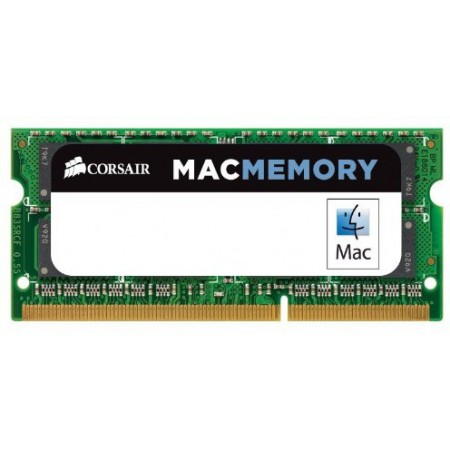 RAM SO-DIMM NOTEBOOK DDR3L 8GB PC3-12800 1600Mhz CL11 CORSAIR - APPLE QUALIFIED