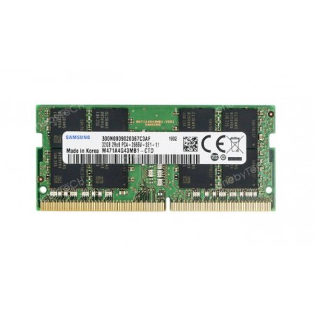 RAM SO-DIMM NOTEBOOK DDR4 32GB PC4-2666V MHz PC4-21300 SAMSUNG
