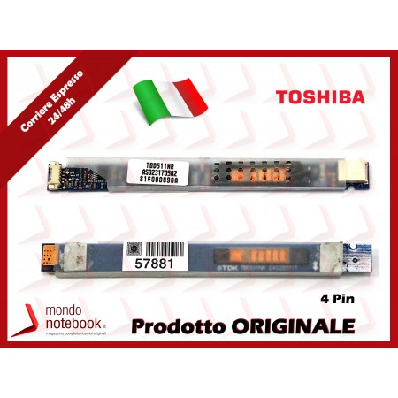 Inverter Board LCD TOSHIBA Satellite Pro A300D (4 PIN)
