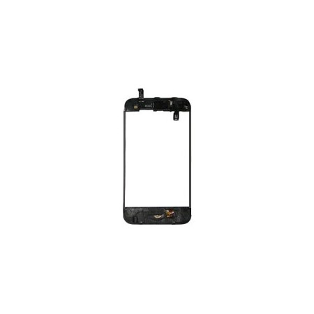 Iphone 3Gs Mid-Frame with Parts - Black