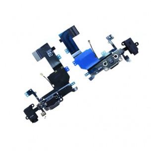 iPhone 5C System Connector Charging Block Connector Flex - Black