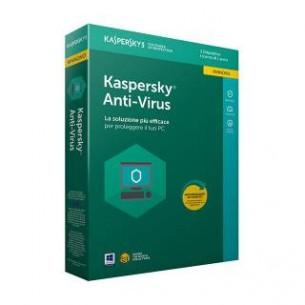 Kaspersky Antivirus 2018 Licenza per 1 Dispositivo 1 Anno Rinnovo