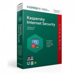 Kaspersky Internet Security 2017 3 Dispositivi 1 Anno